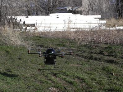 Mini-UAV Detects Motion, Breathing Behind Walls