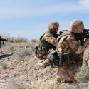 US, British forces test contingency operations during Desert Eagle 2011