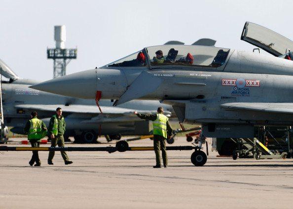 British forces strike against Libya ai...