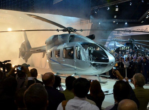 Eurocopter Unveils Four New Helicopter...