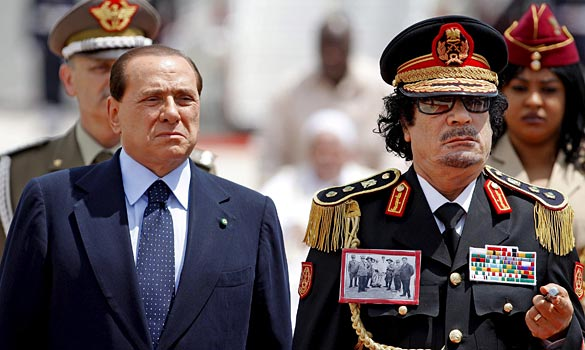 Delusional Kadhafi insists Libya loves...