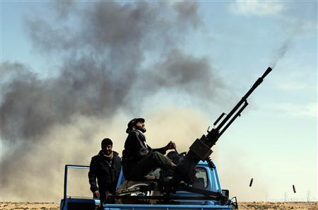 Anti-Aircraft Fire Erupts Over Tripoli...