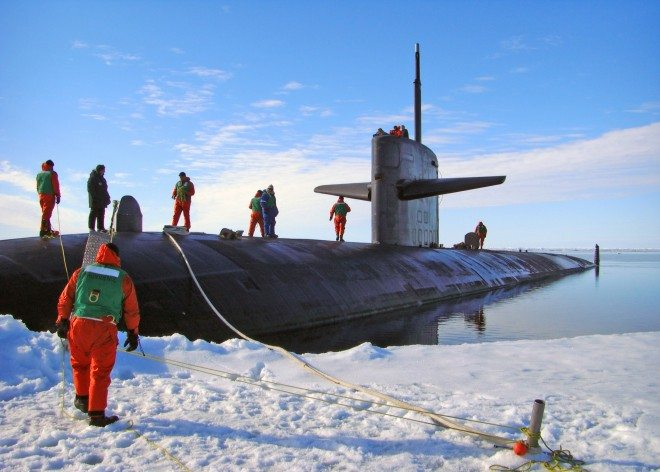 US Navy ill-prepared for new Arctic fr...