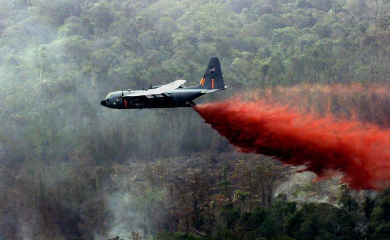 Air Guard, Reserve continues to fight Texas wildfires