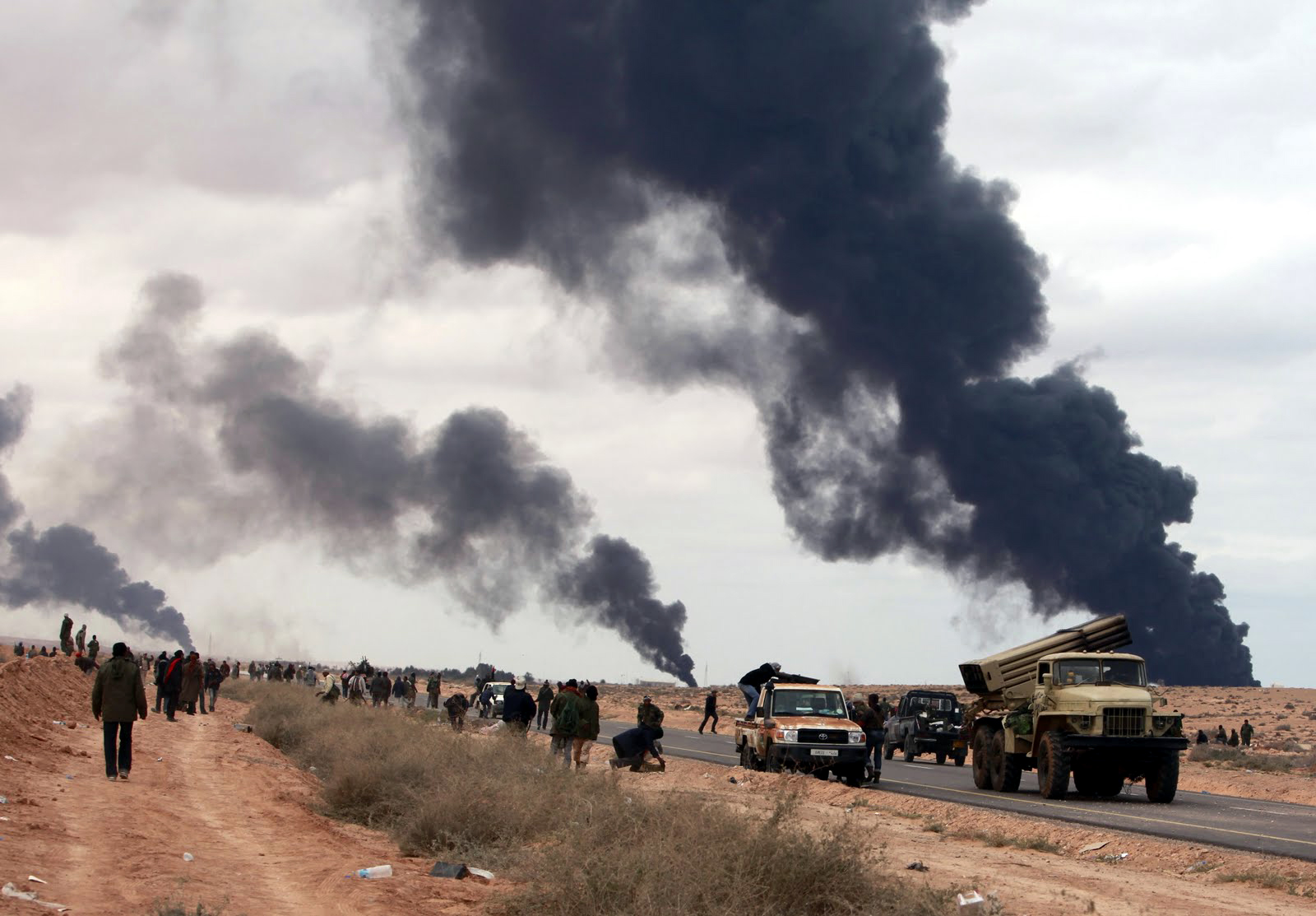 Libya stalemate could thicken fog of war for NATO