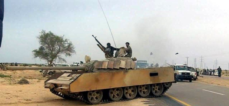 African mediators in Libya as NATO hits tanks