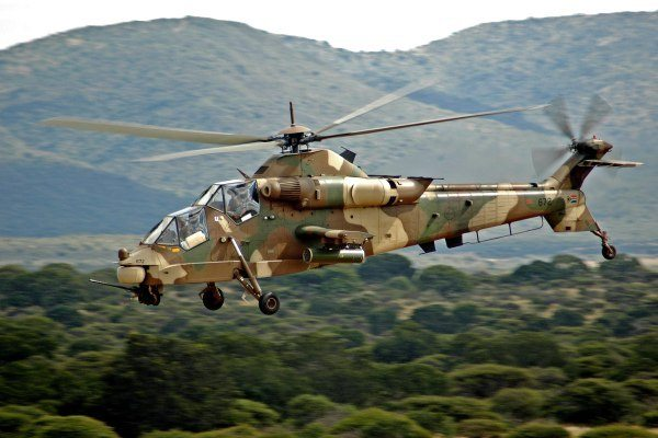 SAAF Gets Upgraded Combat Helicopter