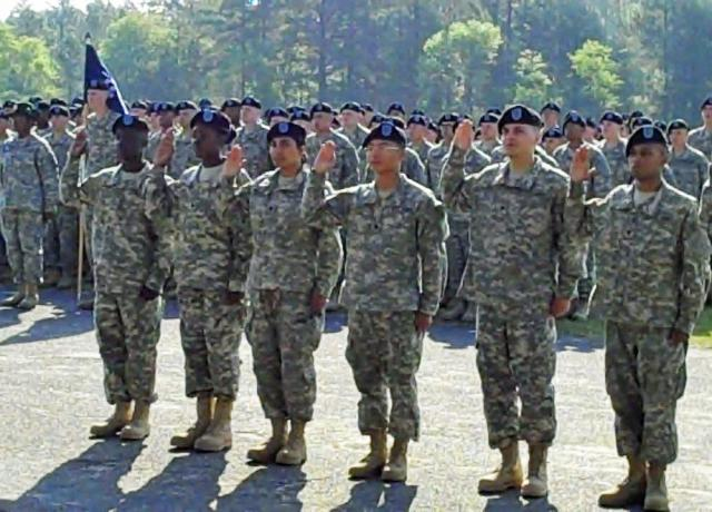 Basic combat training now includes naturalization