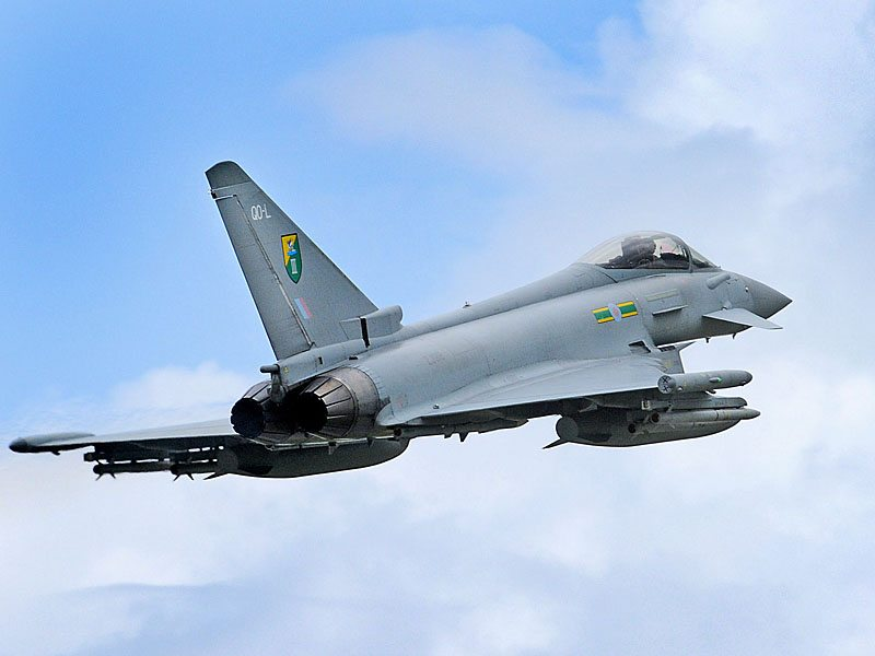 BAE Systems to Maintain Typhoon's Fron...