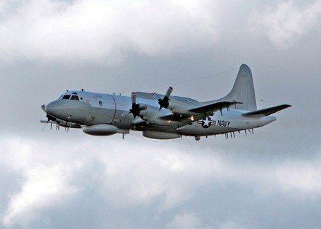 US Navy EP-3E Spiral 3 Spy Plane Moves...