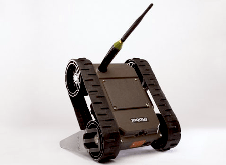 iRobot Develops 110 FirstLook, a Small...