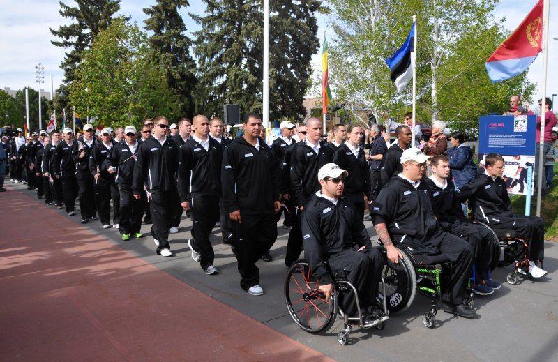 2011 Warrior Games open