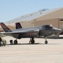 Maintainers prepare for F-35A training on F-35B and F-35C