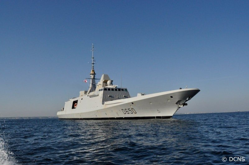 DCNS Launches Second French Fremm Frig...