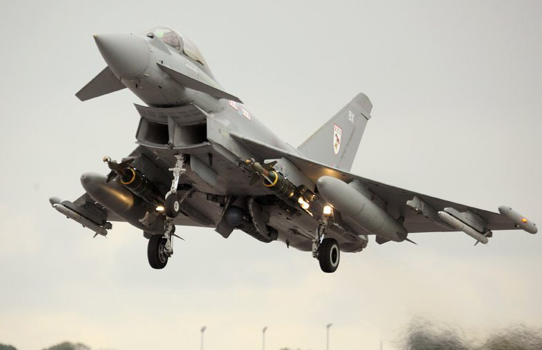 RAF Deploys Enhanced Paveway III for L...