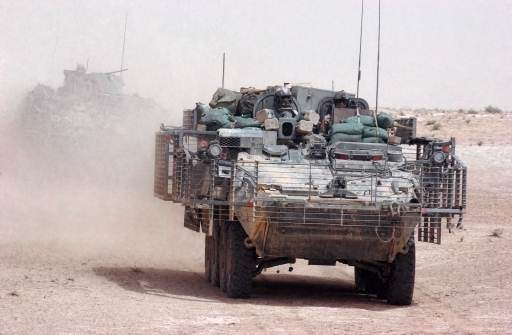 Stryker BCTs in Afghanistan Now Equipp...