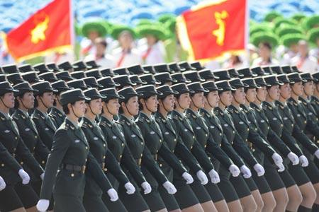 World Military Spending Falls, But Chi...
