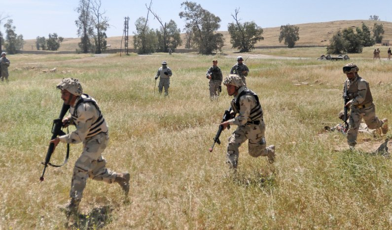 'Head Hunter' squadron trains Iraqi Ar...