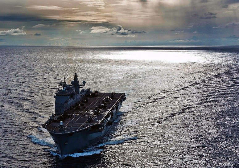 Royal Navy Ready for Unforeseen Global...