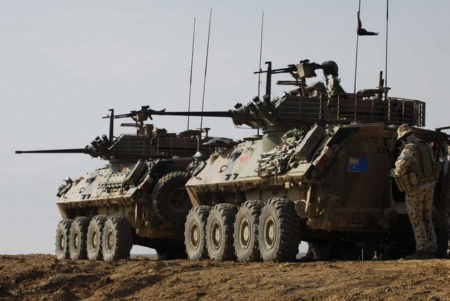 Australian Light Armoured Vehicle (ASLAV)