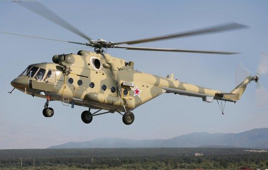 Mi-8AMTSh Helicopters Delivered to Rus...