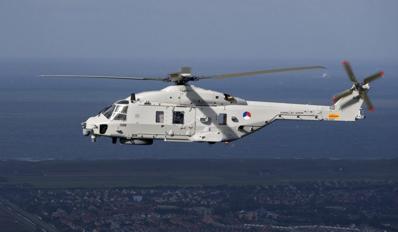 First Spanish-Assembled NH90 Takes Fli...
