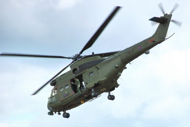 Upgraded RAF Puma Mk 2 Makes First Fli...