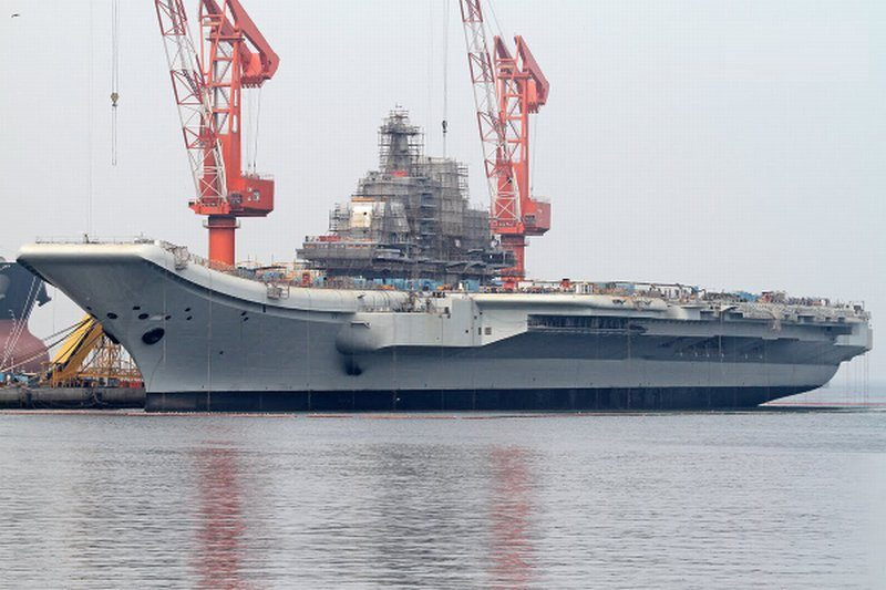 China's First Aircraft Carrier Leaves ...