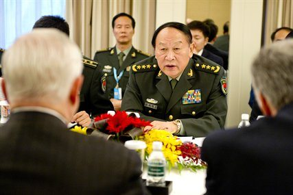 Defense minister denies China behind c...