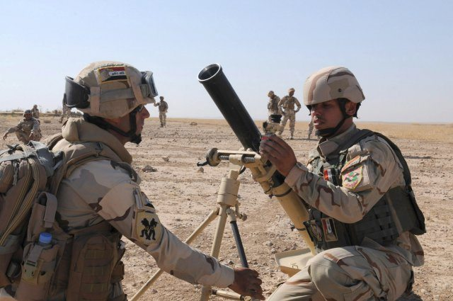 Iraqi mortar crews build confidence, prepare for Operation Iron Lion