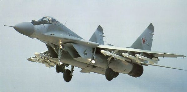 Russia Delivers Upgraded Mig-29 Fighte...