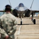 First F-35 arrives at Eglin Air Force Base