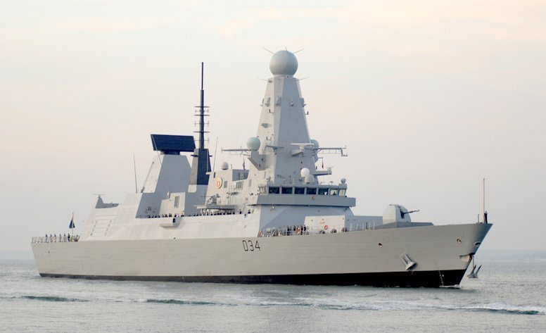 Enter the Dragon As Fourth Type 45 Arr...