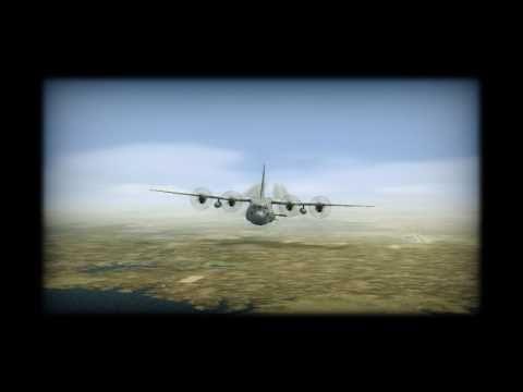 Lockheed AC-130 Gunship USAF FSX Demonstration