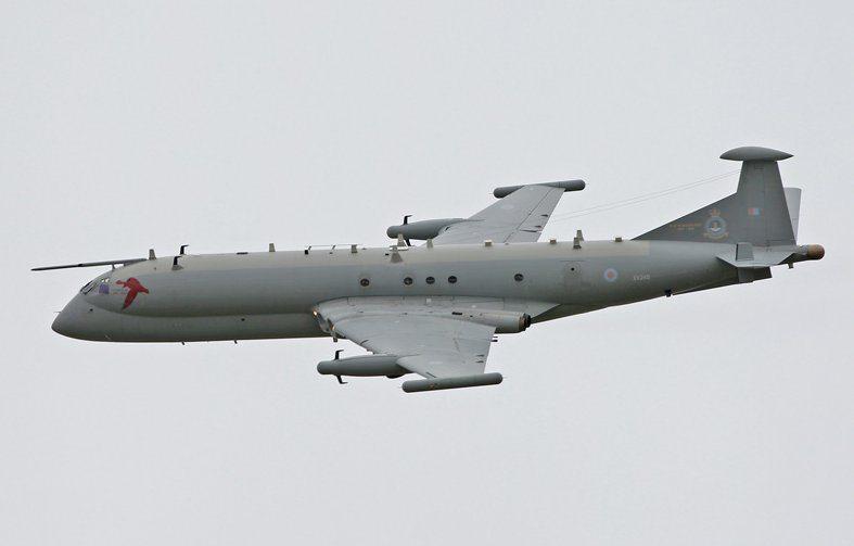 RAF Nimrod R1 Retires From Service