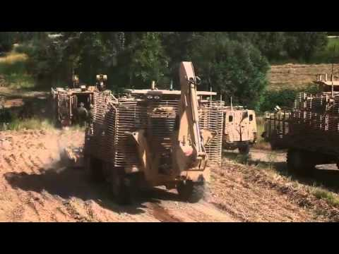 Royal Marines Conduct IED Clearing Operation in Afghanistan