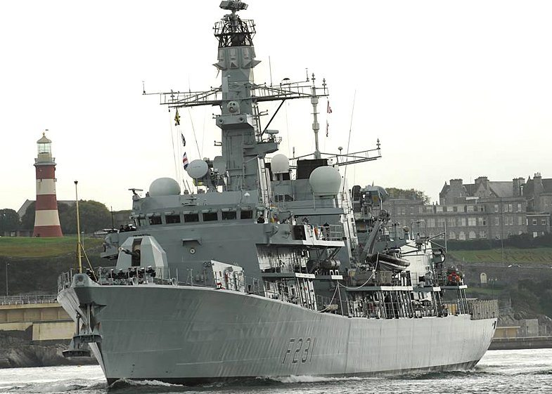 Revamped Frigate Argyll Ready for Acti...