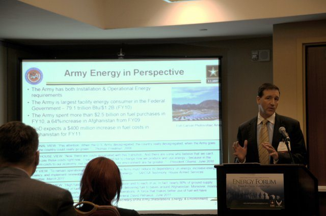 BRAC will help Army save energy