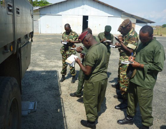 US Army Africa conducts deployment cap...