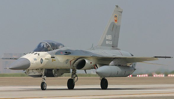 Taiwan unveils upgraded fighter jets