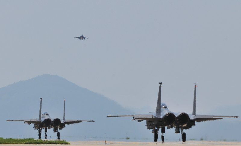 Army, Airforce units take aim during j...