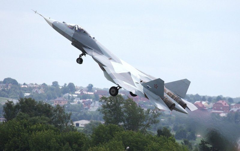 Russia's 5G fighter makes first demons...