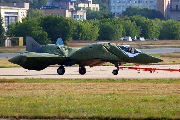 Russian Stealth Fighter Aborts Takeoff...