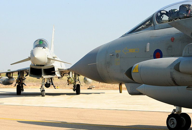 RAF Ready for Further Action Over Trip...