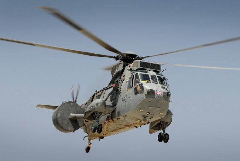 Royal Navy Uses AEW Helicopters for IS...
