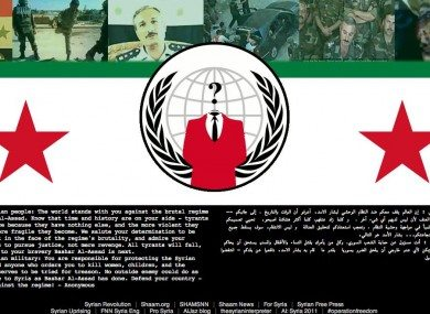 Hackers deface Syrian defense ministry website