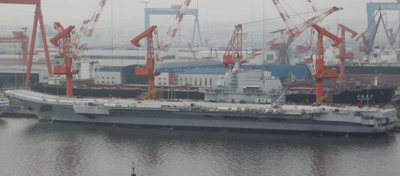 China's first aircraft carrier starts ...