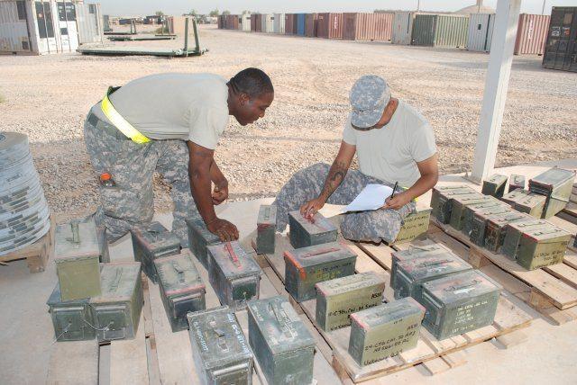 New dawn for ammunition as Iraq drawdo...
