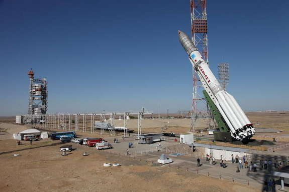 Proton Rocket Failure Probe Finds No E...
