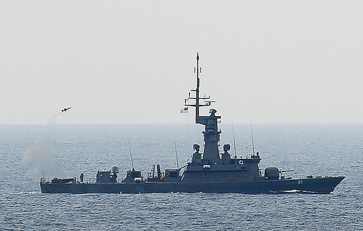 Singapore Navy's Upgraded Corvette Tes...